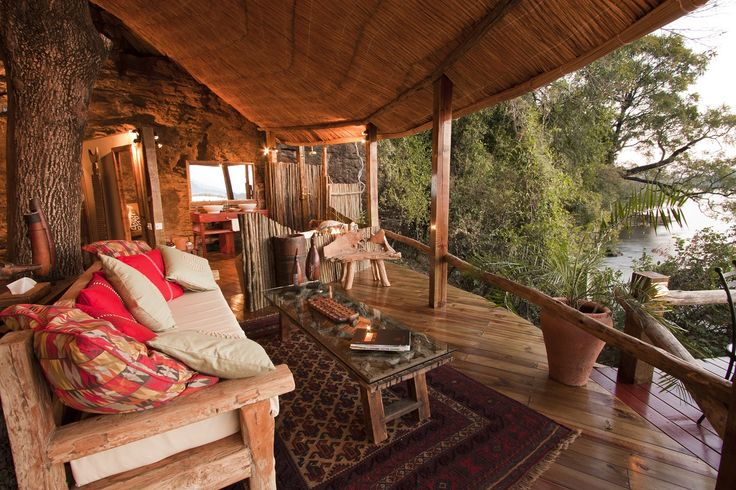 Scenically located along the Zambezi River, near the famous Victoria Falls, The Tongabezi Lodge offers an upmarket and authentic African experience. This luxury camp consists…