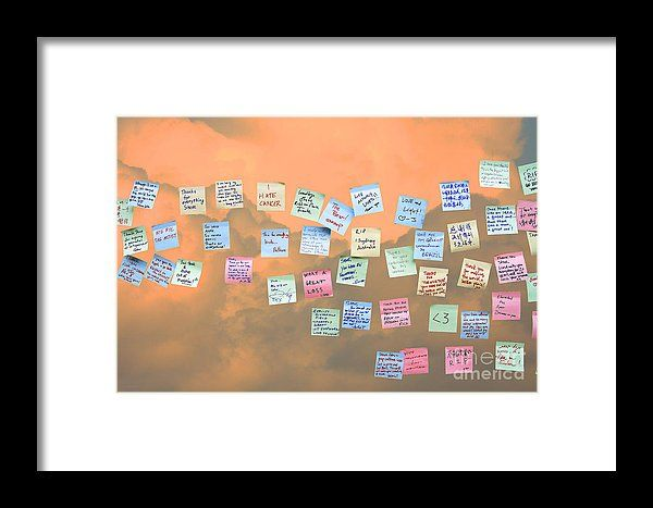 Messages In The Cloud . Rip Mr Steve Jobs . October 5 2011 . You Will Surely Be Missed Framed Print by Wingsdomain Art and Photography  steve jobs steven jobs steve job steven job death of steve jobs steve jobs memorial memorial memorials ap…