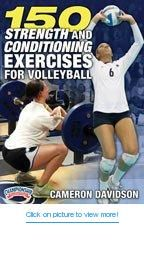 Championship Productions Cameron Davison: 150 Strength and Conditioning Exercises for Volleyball DVD