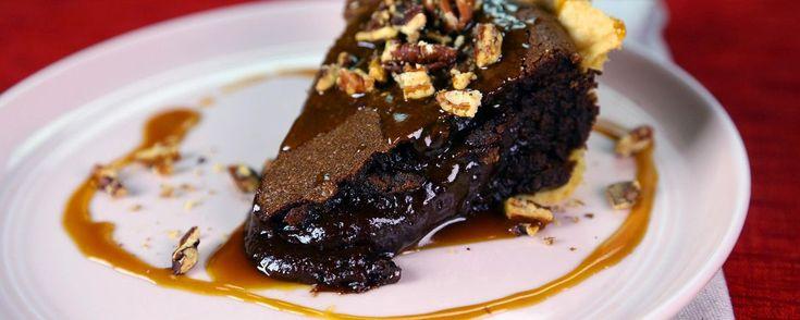 Chocolate Lava Pie Recipe | The Chew - ABC.com