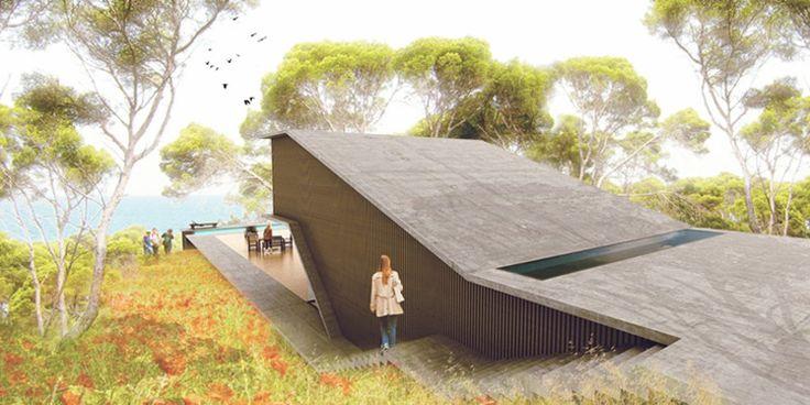 17 meilleures id es propos de maison de deux niveaux sur for Architecte sanary sur mer