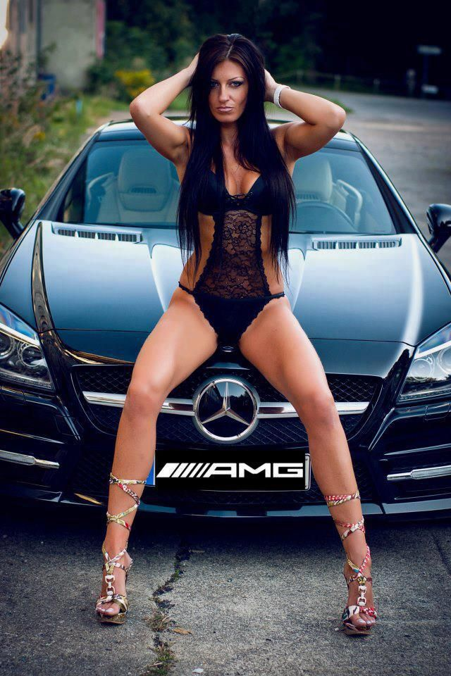 Custom cars and girls hot