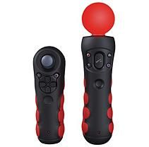 CTA Protective Grips Black & Red for the PlayStation®Move