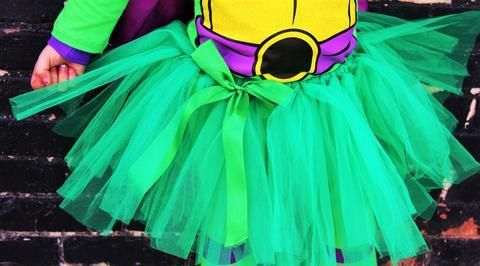 Girls Ninja Turtle Costume