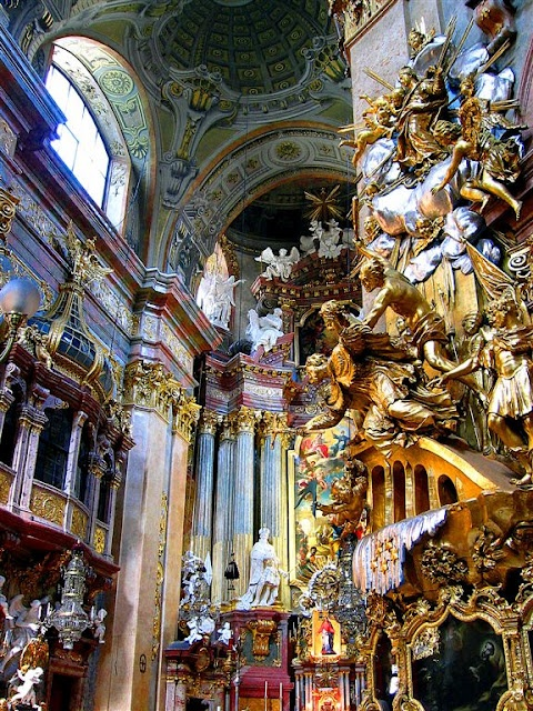 17 best images about baroque art on pinterest baroque for Baroque style church