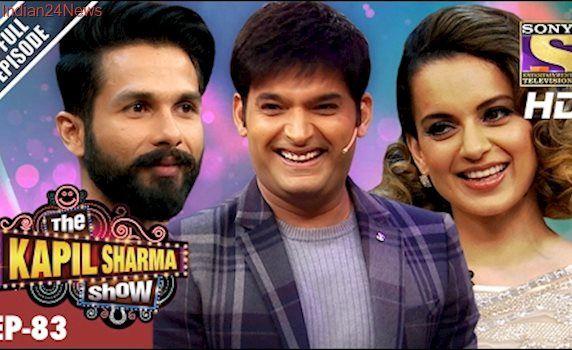 The Kapil Sharma Show - दी कपिल शर्मा शो- Ep-83 - Shahid And Kangana In Kapil's Show –19th Feb 2017