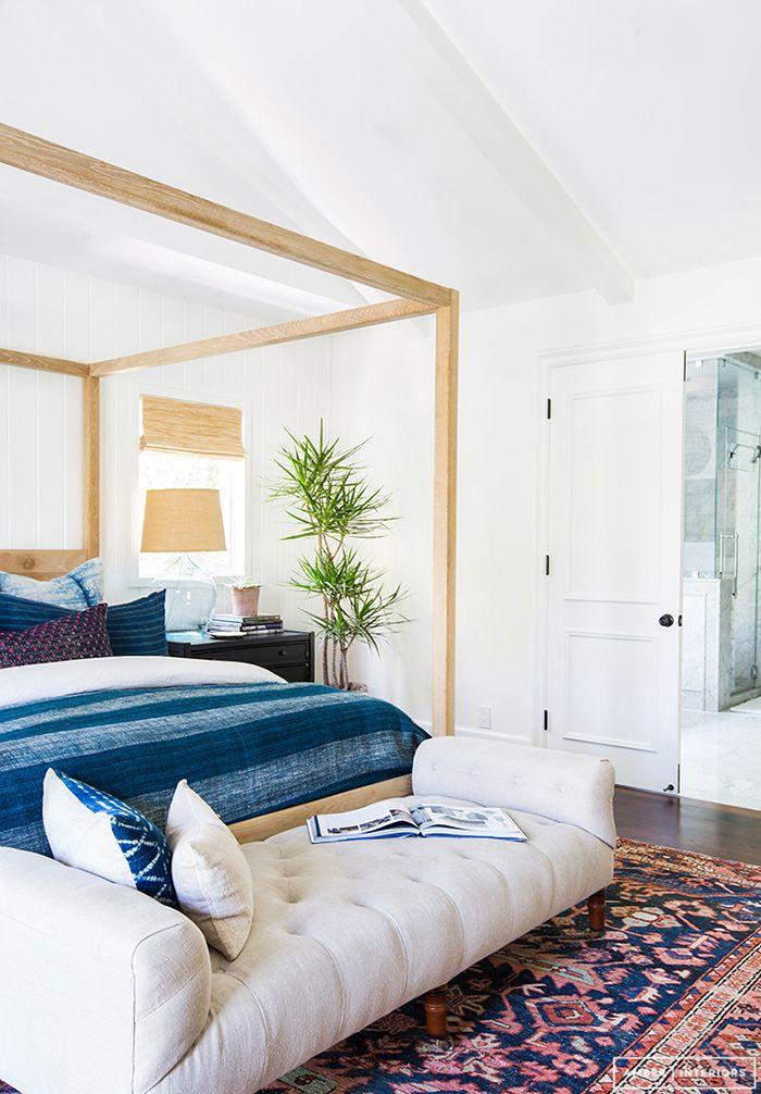 Hometour casa tr s de apartamento de playa a casa n rdica for Decoracion nordica dormitorio
