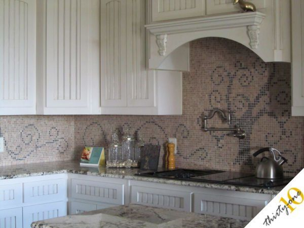 I likelikelike that Unique and Inexpensive DIY Kitchen Backsplash Ideas You Need To See