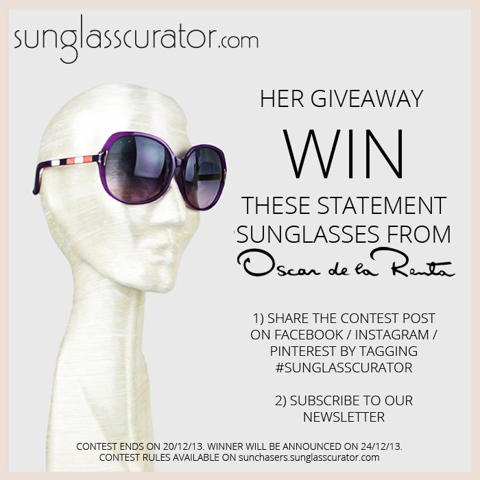 SUNGLASSCURATOR DECEMBER GIVEAWAY! - Sun Chasers