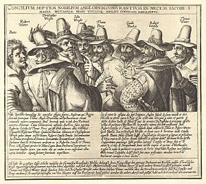The Gunpowder Plot of 1605, in earlier centuries often called the Gunpowder Treason Plot or the Jesuit Treason, was a failed assassination attempt against King James I of England and VI of Scotland by a group of provincial English Catholics led by Robert Catesby.