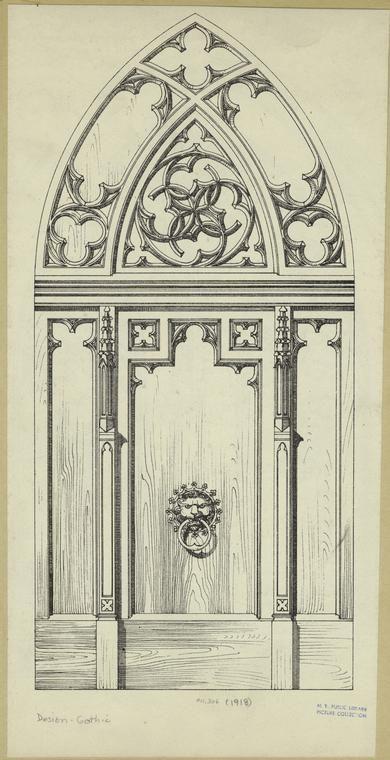 Средневековое искусство и готический орнамент Средневековое искусство и готикический орнамент #29