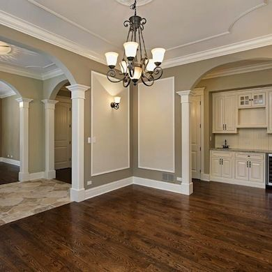 9 Best Images About Corner For Crown Molding On Pinterest | Paint