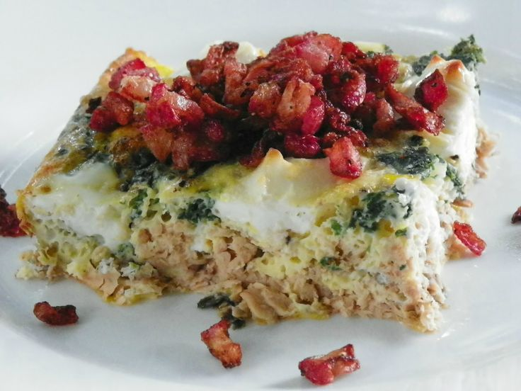 Beatitudes, Blessings & Broadcasts: Salmon Breakfast Casserole (S)
