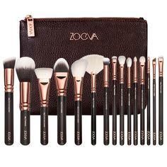 Zoeva Makeup brushes full professional makeup kit make up brushes set with bag for eye shadow free eye stencil