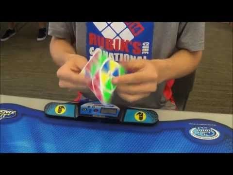 2.56 Official Pyraminx World Record Average - Drew Brads - YouTube