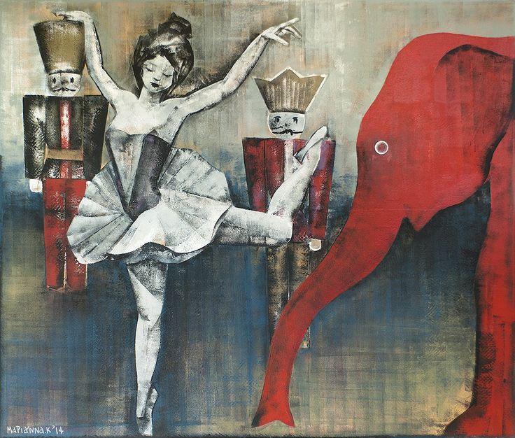DL fine arts gallery - Μαριάννα Κατσουλίδη: New Artwork