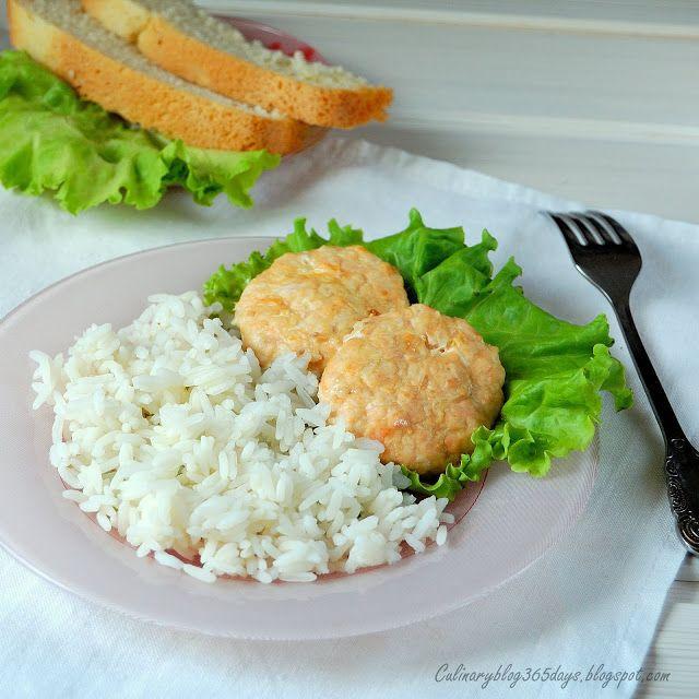 Кулинарный блог 365 дней: Рыбно-куриные котлеты в духовке