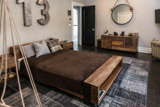 1000 id es sur le th me chambres rustiques modernes sur for Refaire sa chambre a coucher