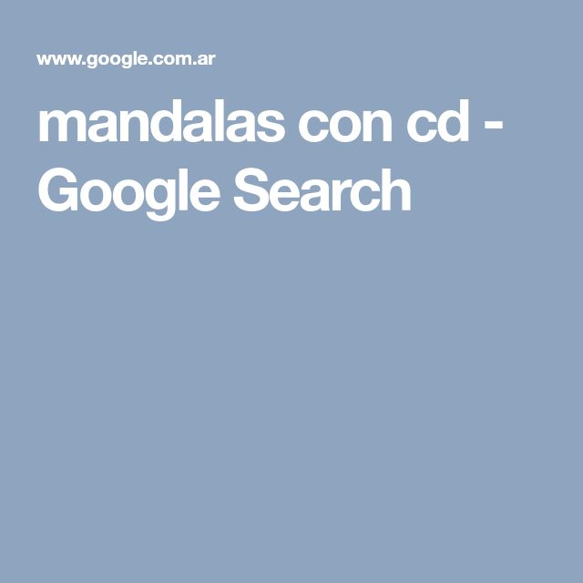 mandalas con cd - Google Search