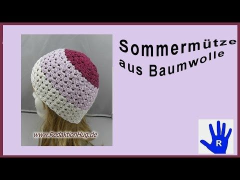 Leichte Sommer Beanie Stricken Diy Julebuergerfee Youtube Better