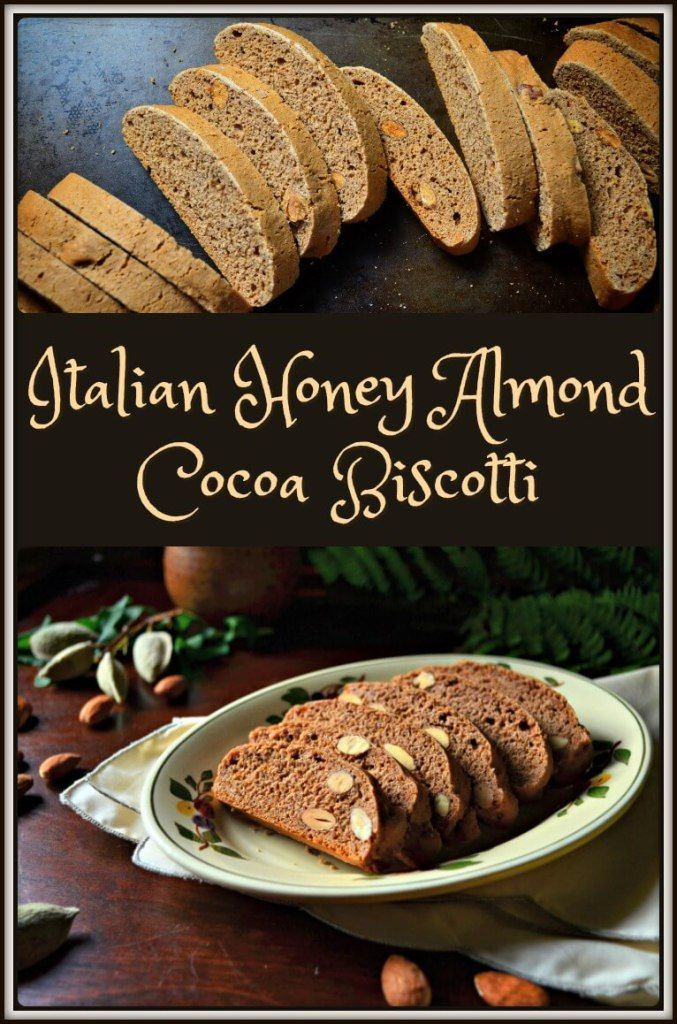 A step by step explanation for Simple Classic Italian Honey Almond Cocoa Biscotti. A recipe that is so easy to make and even easier to eat! Enjoy!