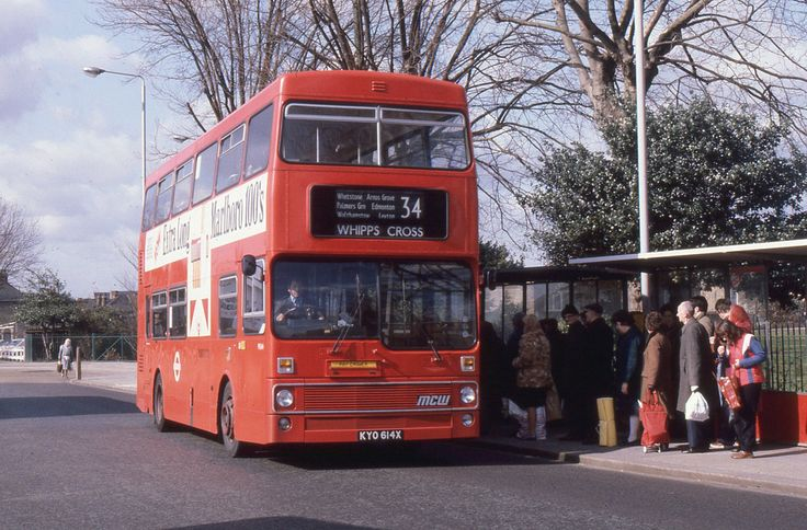 https://flic.kr/p/aVgWNR   London Transport . M614 KYO614X . Walthamstow Central…