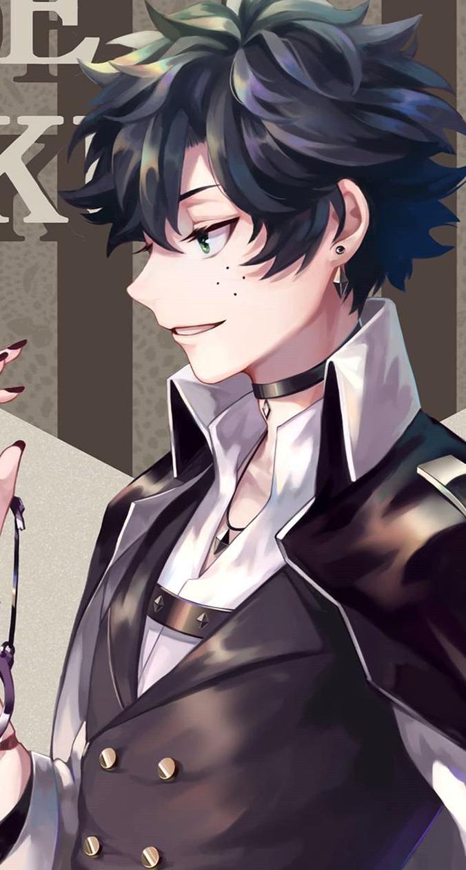 Hot Villain Deku Credits To Owner Cute Anime Chibi Villain Deku Anime Guys