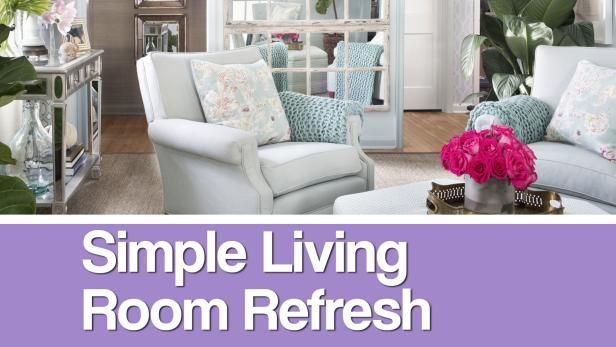 Watch HGTV's expert designer Brian Patrick Flynn as he works his magic in revamping the HGTV.com Spring House's small living room look and storage space.