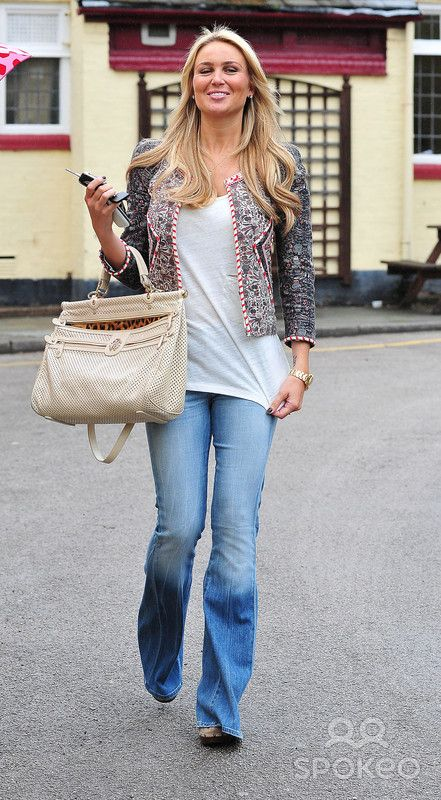 Alex Curran aka Alex Gerrard, who announced her pregnancy on Tuesday, leaving a restaurant after having lunch with friends