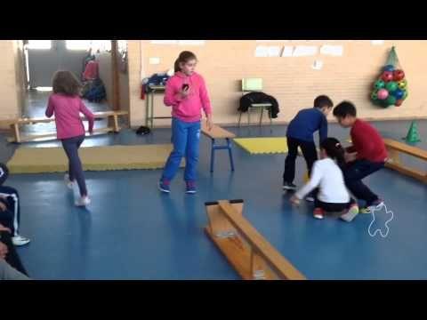 La coordinación dinámica general en equipo