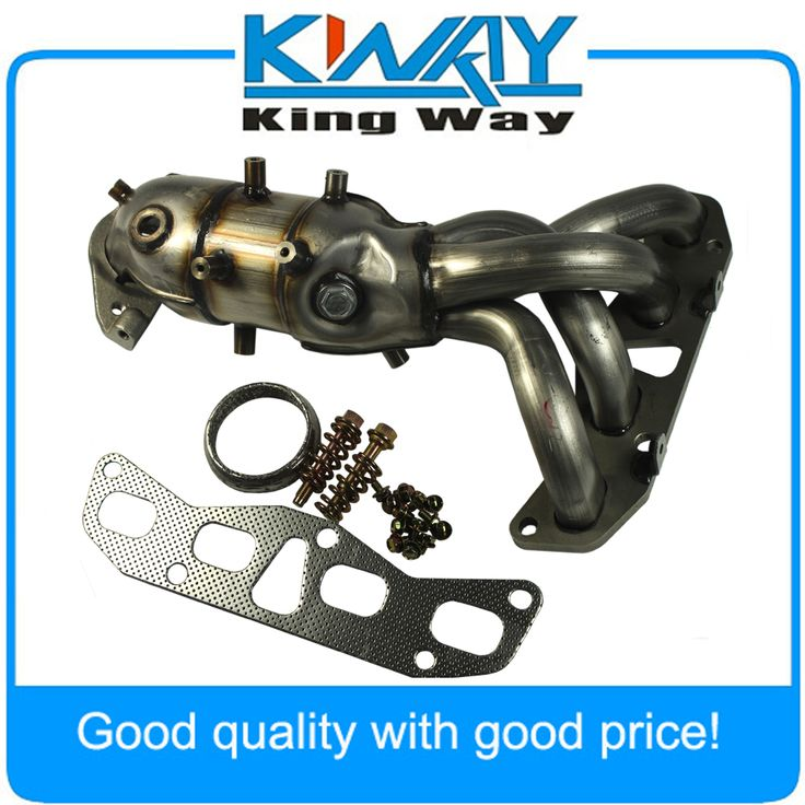 New Exhaust Manifold With Catalytic Converter Fit For