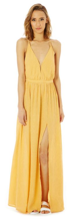 Glassons - Stripe Strappy Back Maxi Dress, RRP $69.99, now $48.99