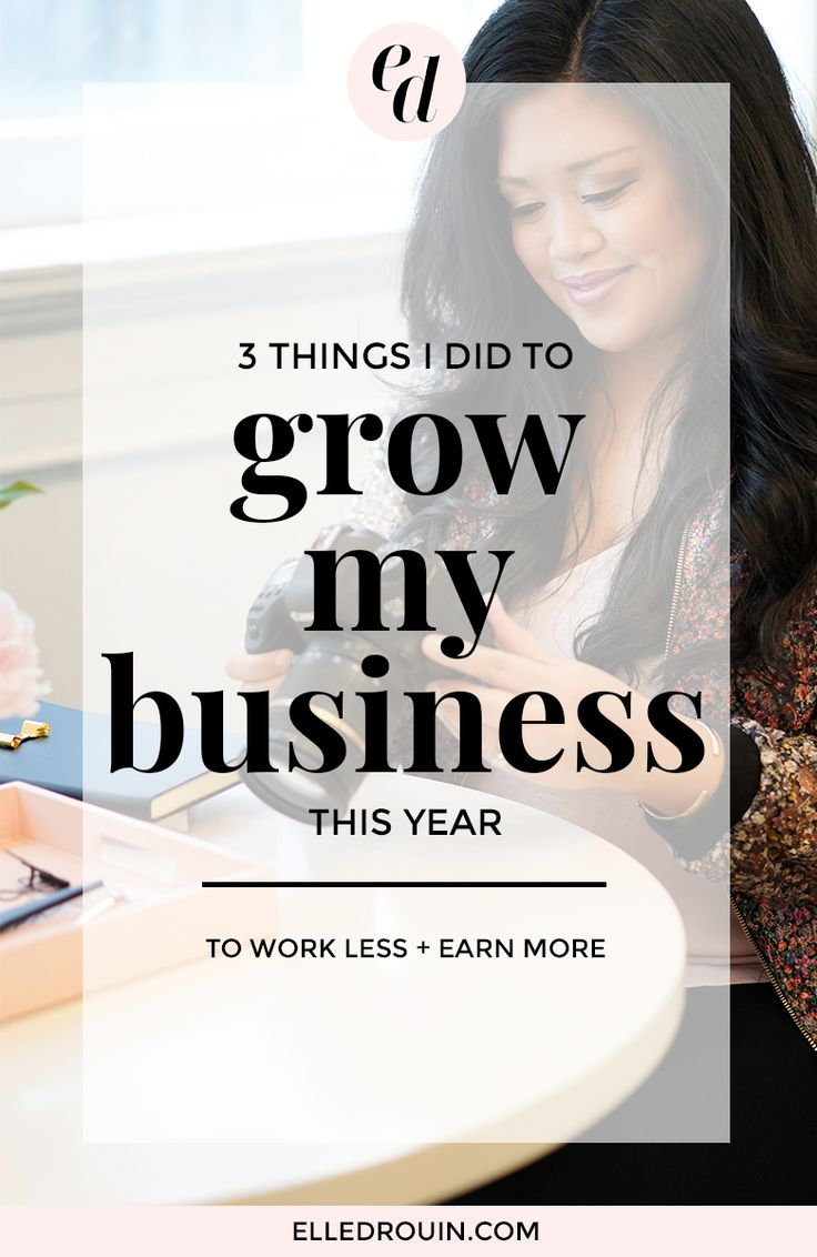 3 things I did to increase my revenue this year - how I streamlined my biz and focused on a few small changes that doubled my recurring revenue.