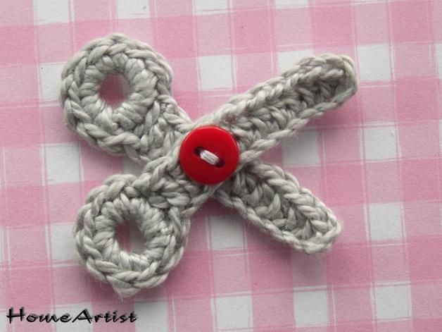 Crocheted Applique – Crochet Applique Embellishments – a unique product by H…