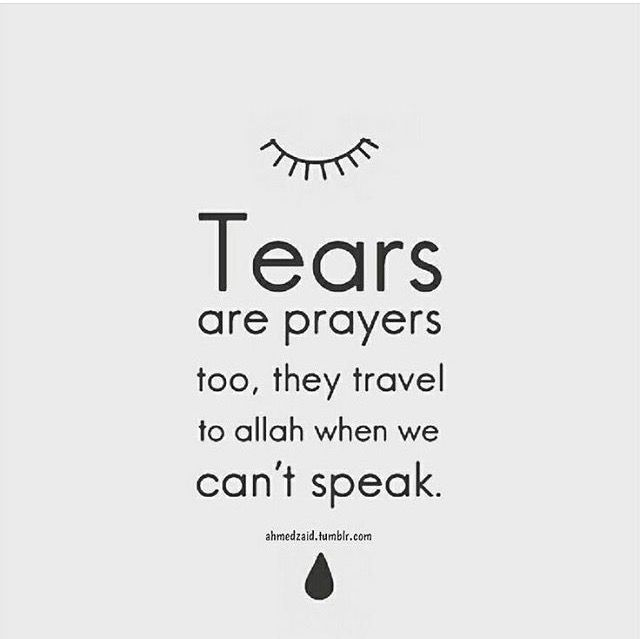Indeed, sometimes I just cry without saying anything although I wanted to speak out but crying is enough for me and my heart can speaks to GOD.