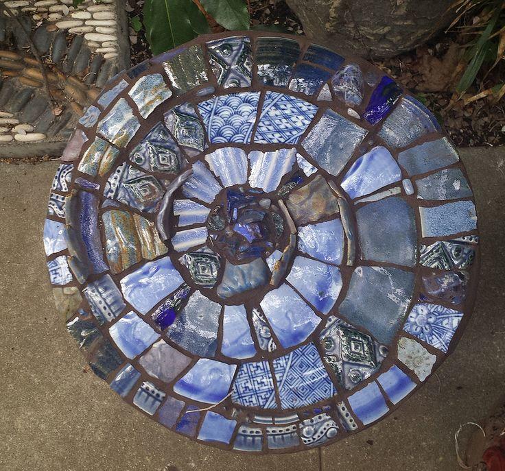 20150315 144834 garden mosaics pinterest paver for Mosaic landscape design