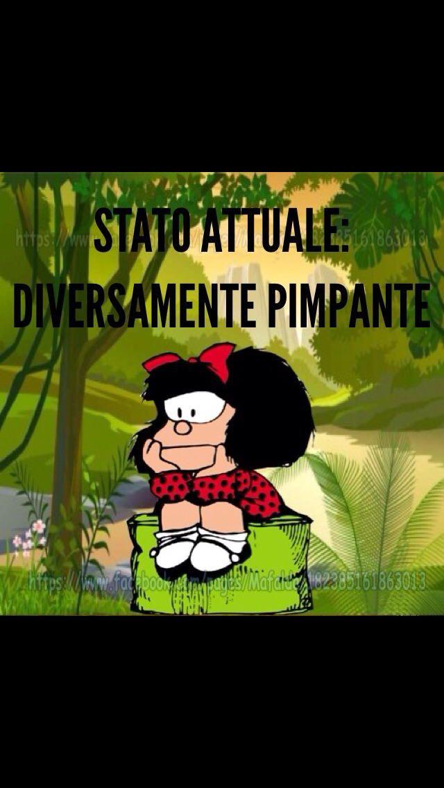 Mafalda - stato attuale ...