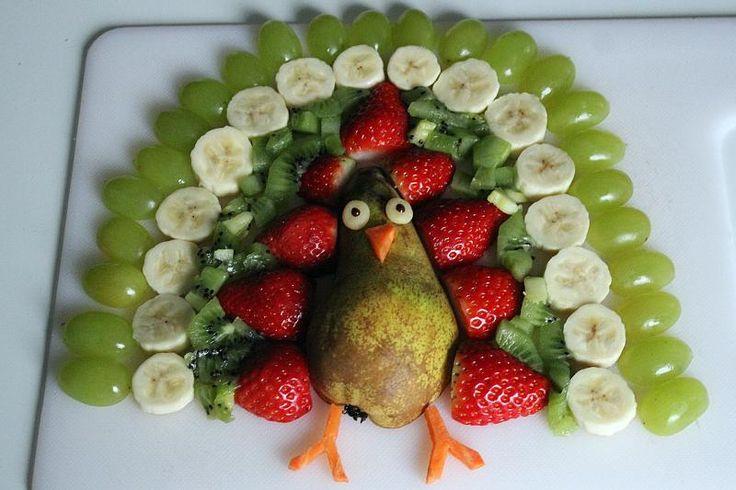 Tiere aus Obst oder Gemüse – Elke O.