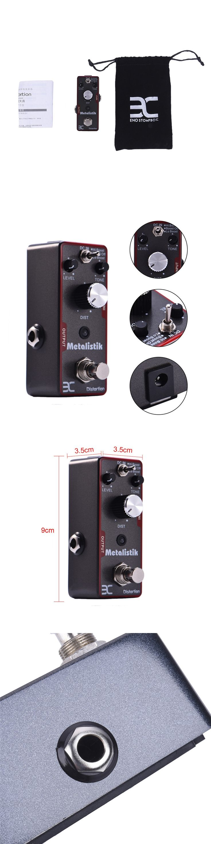 High Quality Electric Guitar Effect Metal distortion True Bypass Durable Guitar Parts and electric guitar effects