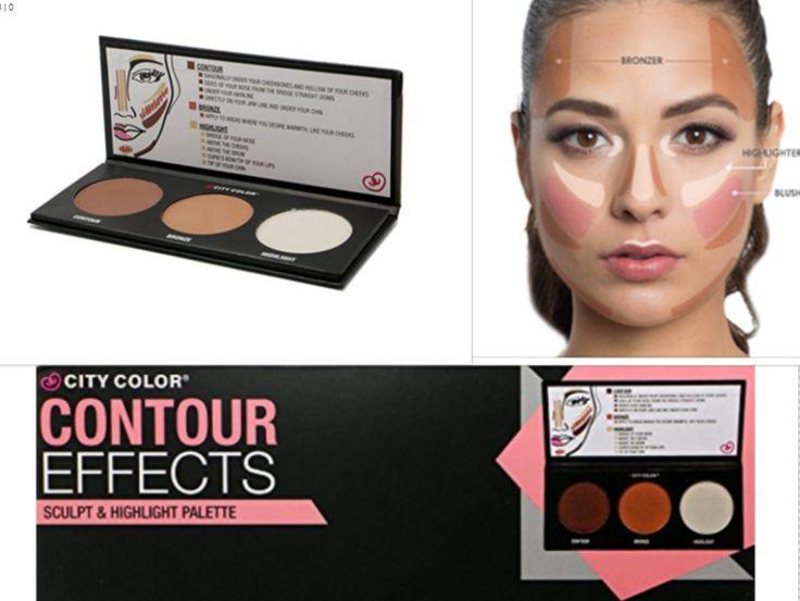 1PC City Color Countour Effects Palette -Contour - Bronze - Highlight makeup art | Health & Beauty, Makeup, Face | eBay!