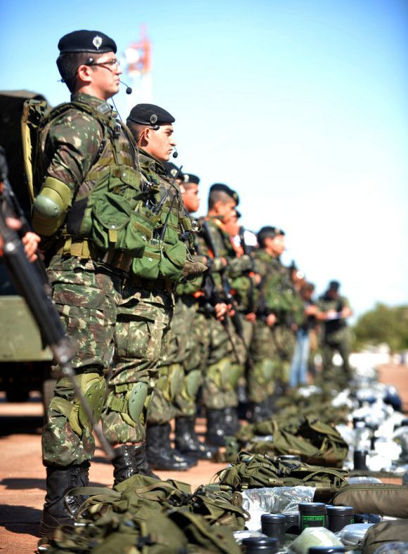 ñ temos alta tecnologia mas temos soldado de muita qualidade