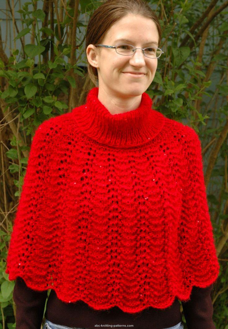 148 besten knit and crochet poncho\'s and capes Bilder auf Pinterest ...