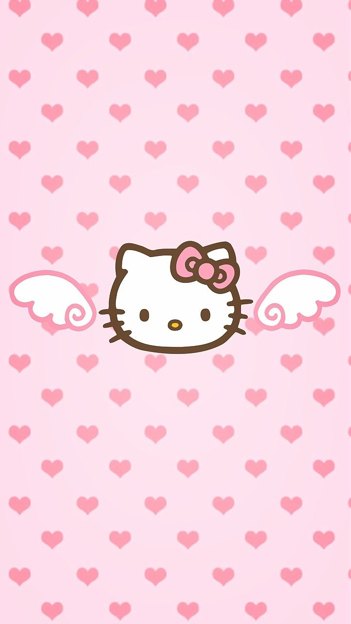 Made It By Myself For Iphone 5 Wallpaper Hello Kitty Wallpaper