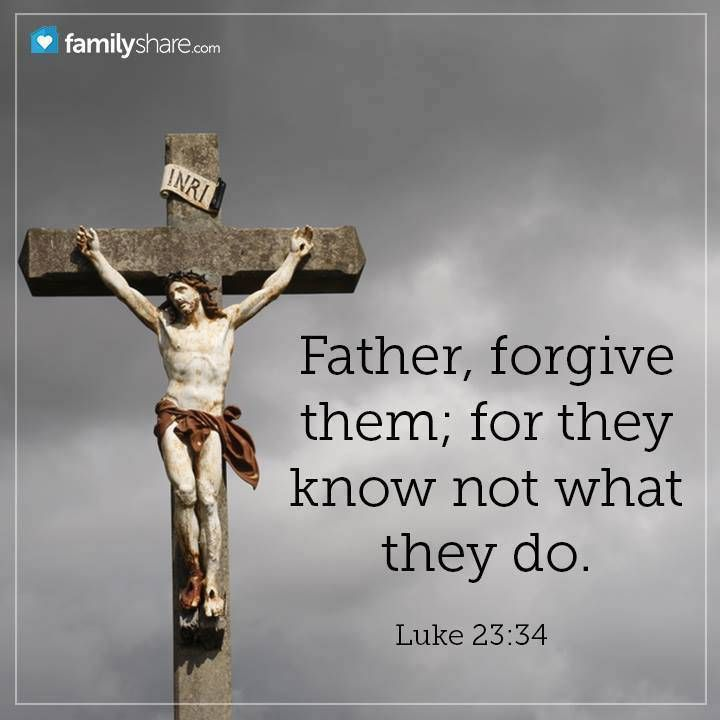 """❤✡✝Luke 23:34✝✡❤ ( http://kristiann1.com/2014/10/18/luke23/ ) """"Then said Jesus, Father, forgive them; for they know not what they do. And they parted His raiment, and cast lots."""" ❤✡✝Jesus Christ LOVES Ye All✝✡❤ ❤""""Love Always, Shalom YSIC, Kristi Ann""""❤"""