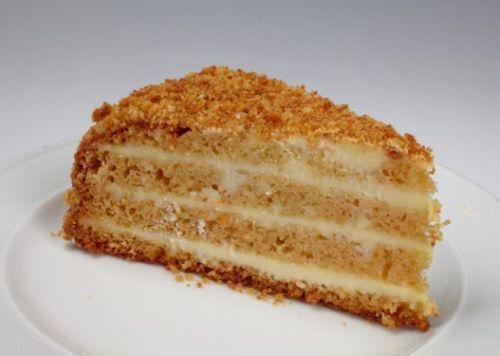Медовый торт без выпечки – очень быстрый торт на сковороде-шаг 1
