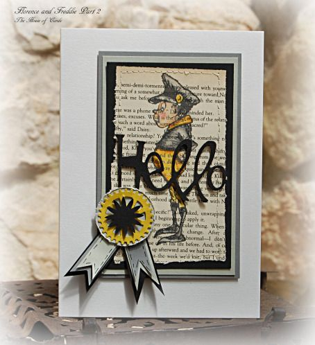 Card Making – Addicted To Stamps 58 | florence and freddie part 2