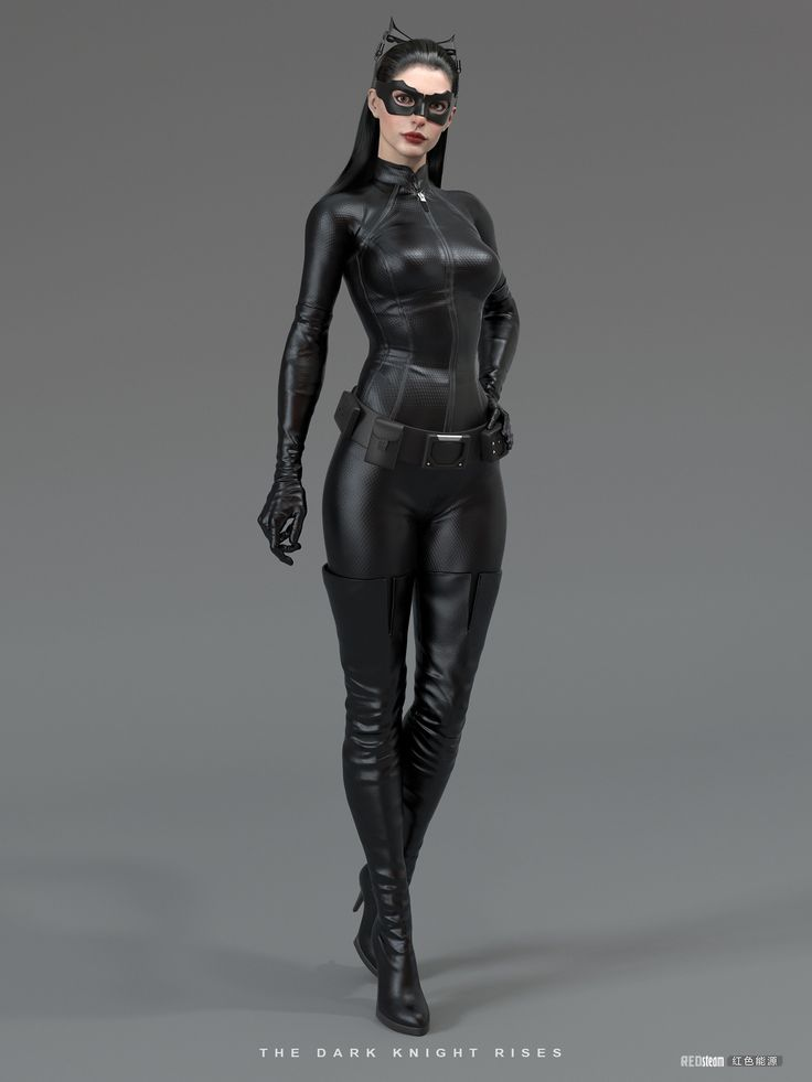 Catwoman - Dark Night Rises 3D model | Designer: Uriso: Dark Night, Annehathaway, Cat Woman, 3D Character, Halloween Costumes, Knights Rise, Anne Hathaway Catwoman, Dark Knights, 3D Models