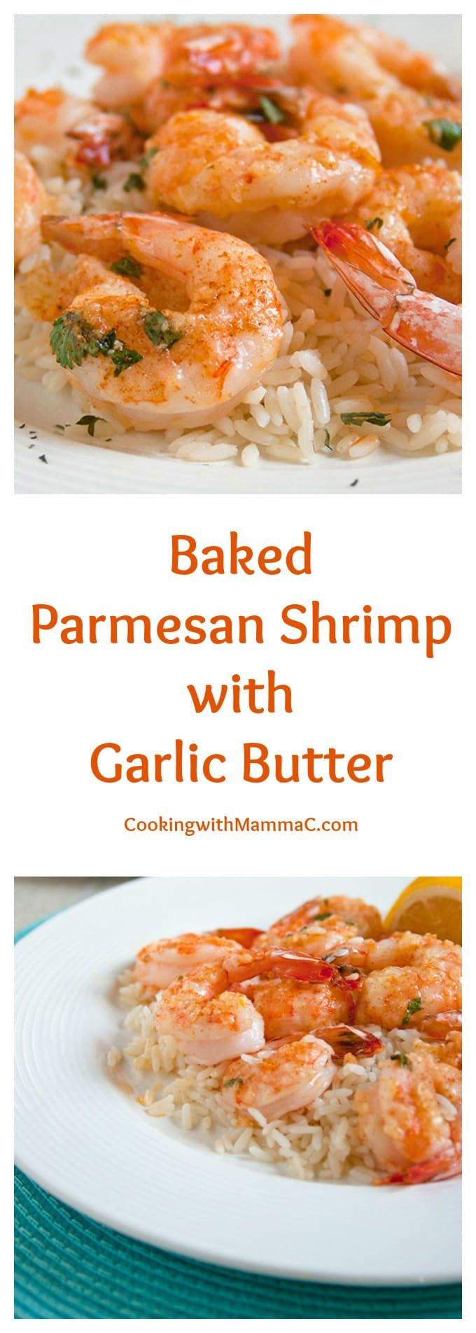 Baked Parmesan Shrimp with Garlic Butter is scrumptious and gluten free! It's …