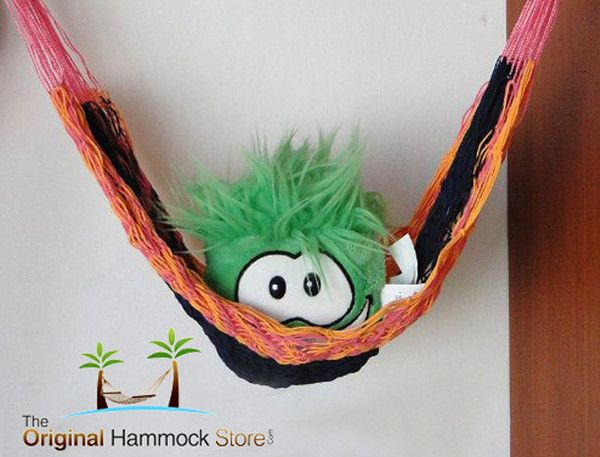 Toy Hammock: Toy hammocks aren't just popular amongst the kids cuddly toy collection, thanks to their versatility they can even be used for holding fruit and veggies in the kitchen! Wonderful for children and a great way of getting them to organize their toys. Use around the house for storing Keys, photos, jewels or in the rear view of your car this fantastic little hammock offers a multitude of uses.
