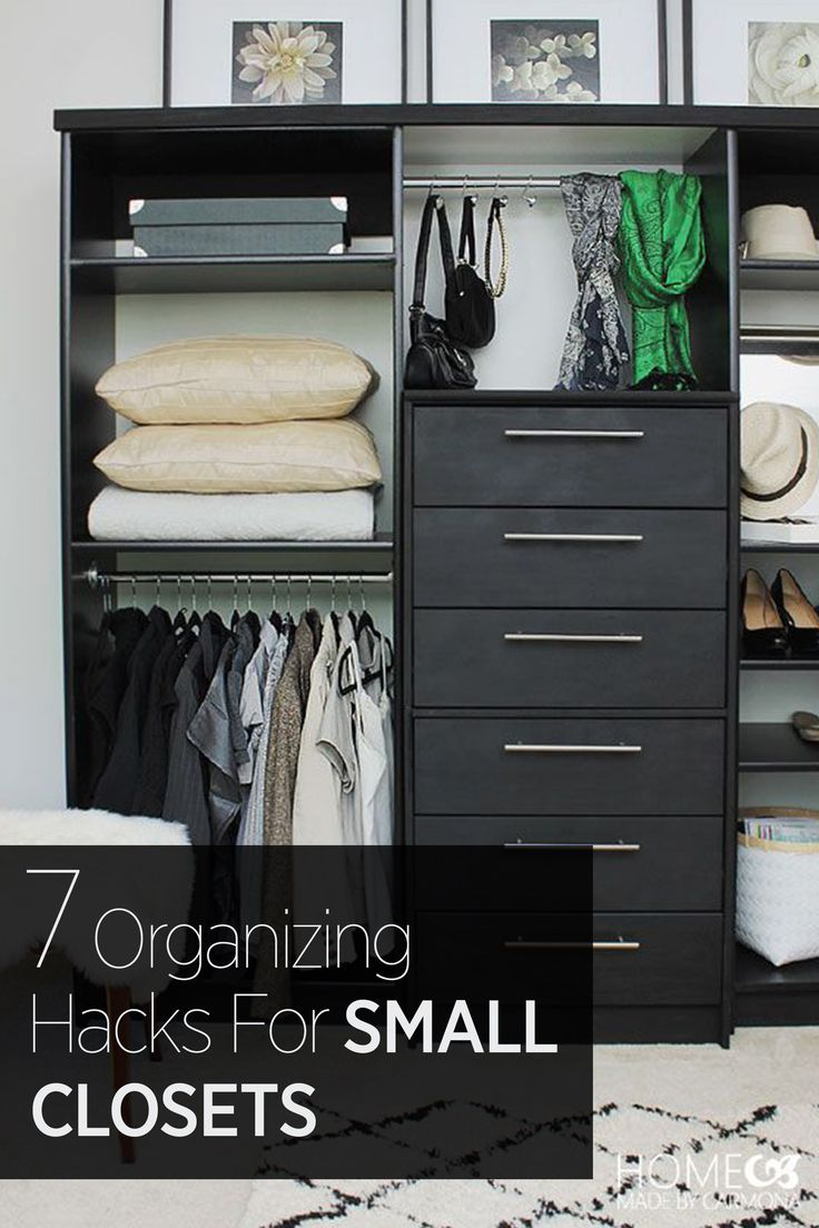 How to make a small closet work with even the largest of wardrobes: